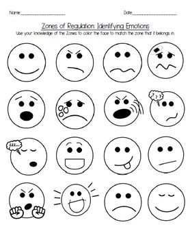 coloring sheet zone printable zones of regulation faces inside out emotions coloring workbook packet tpt sheet zones zone regulation printable coloring of faces