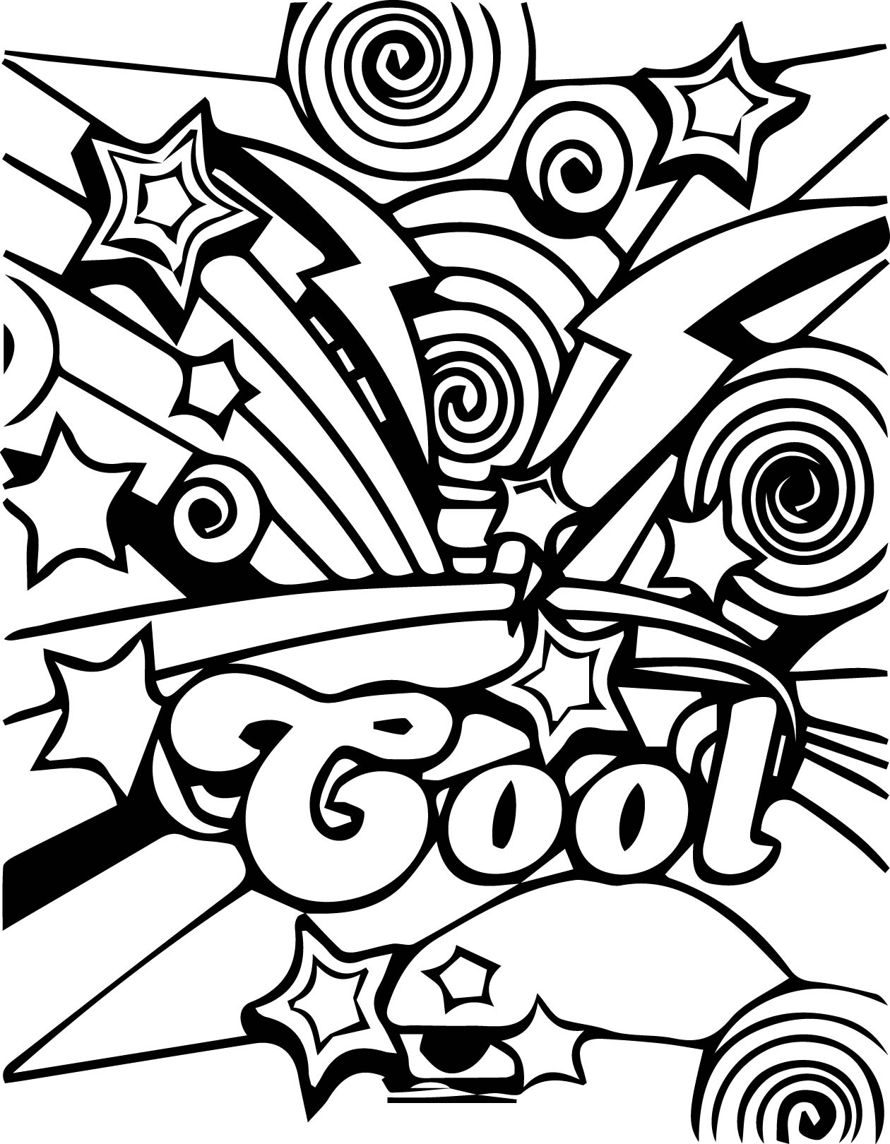 Coloring sheets cool