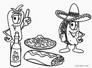 coloring sheets easy food 7 best images of printable pictures of breakfast food sheets coloring food easy