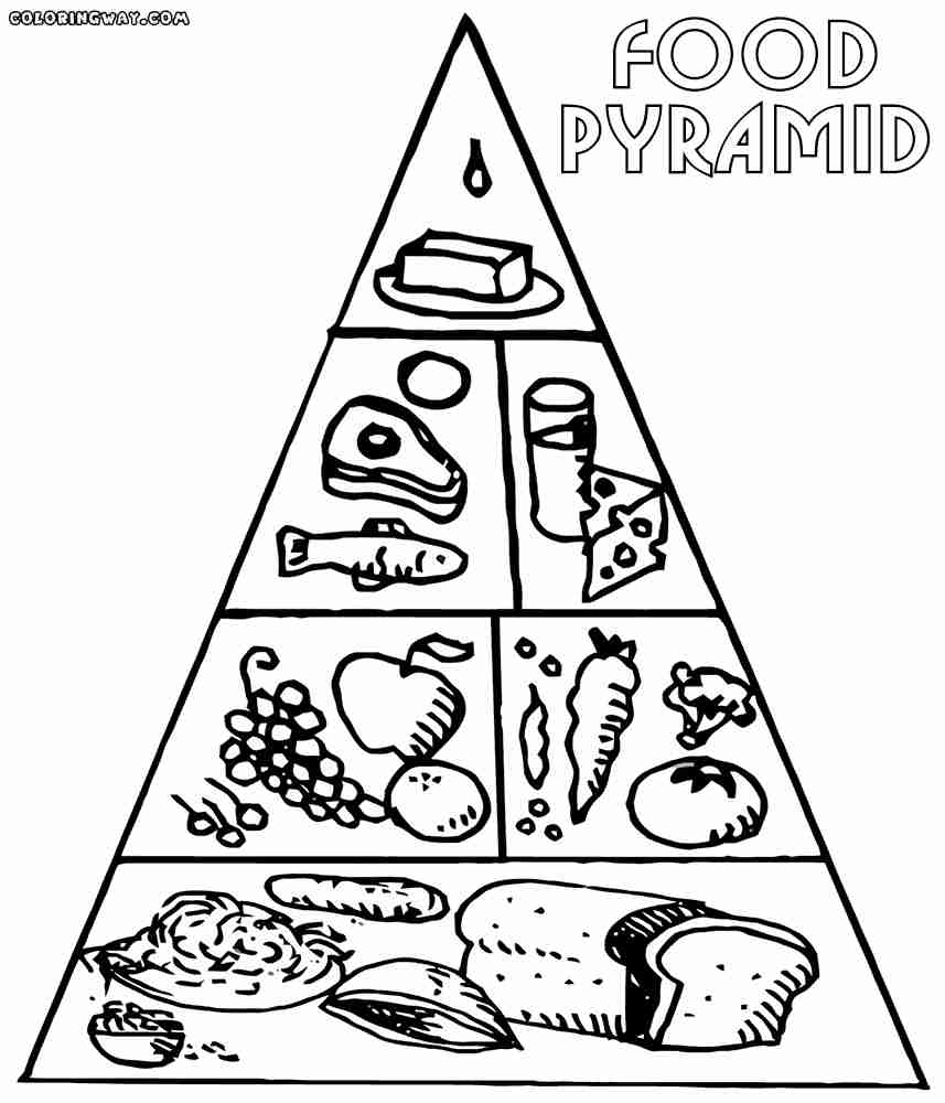 coloring sheets easy food food coloring pages getcoloringpagescom coloring food easy sheets