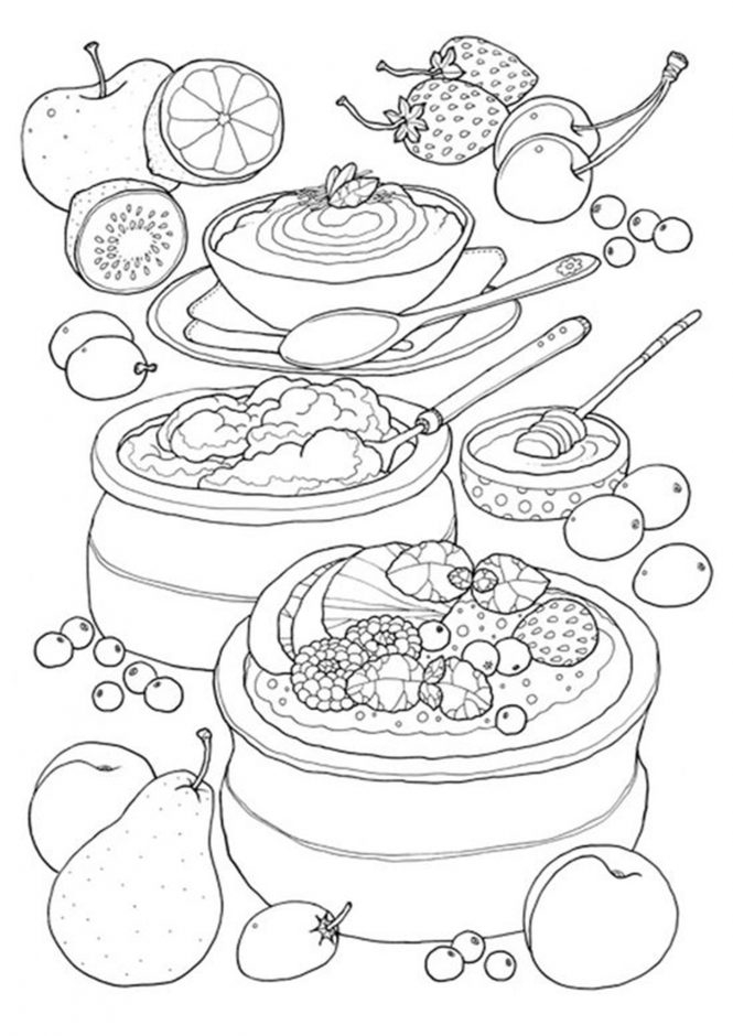 coloring sheets easy food free easy to print food coloring pages tulamama easy sheets coloring food