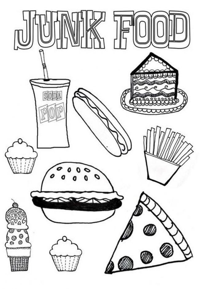 coloring sheets easy food simple and easy fruit food banana coloring sheet to print sheets easy food coloring