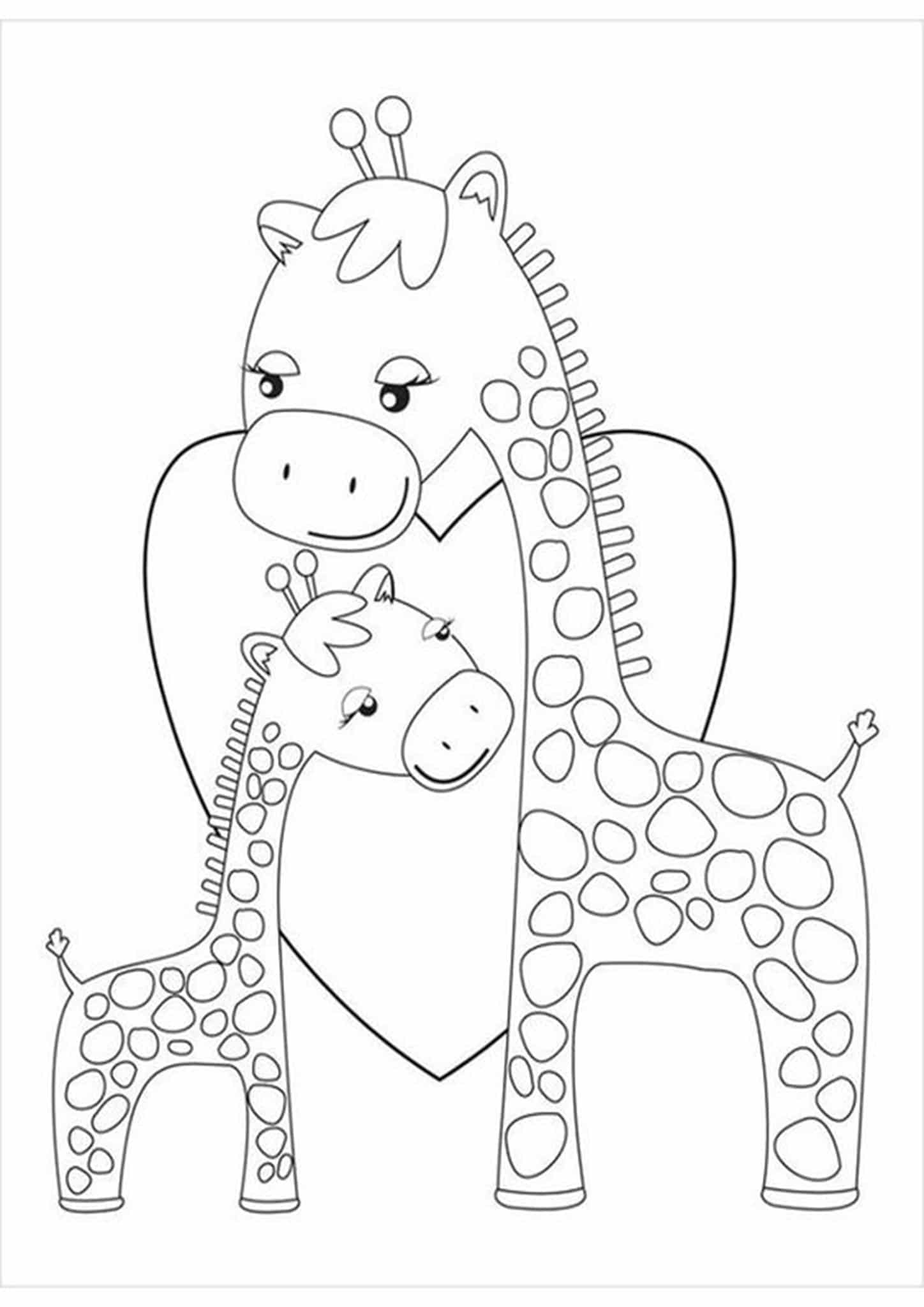 coloring sheets giraffe free easy to print giraffe coloring pages tulamama coloring sheets giraffe