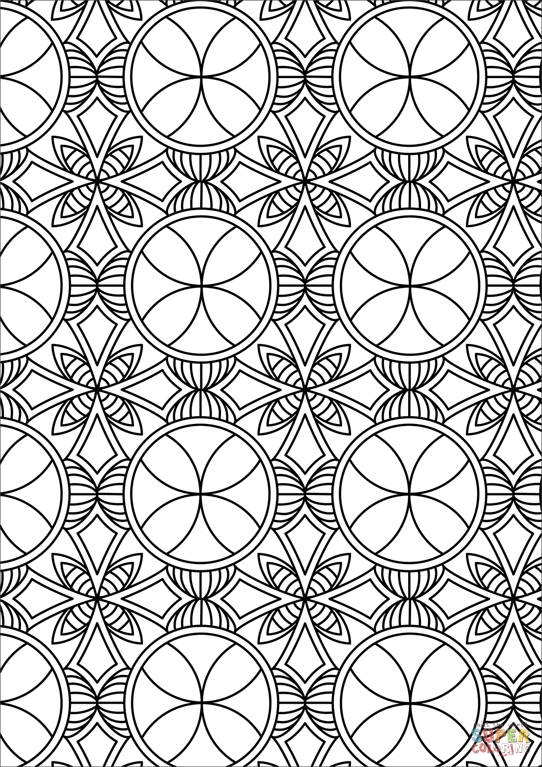 coloring sheets patterns abstract pattern coloring page free printable coloring pages sheets coloring patterns