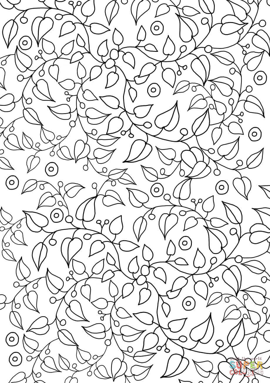 coloring sheets patterns floral pattern coloring page free printable coloring pages sheets coloring patterns