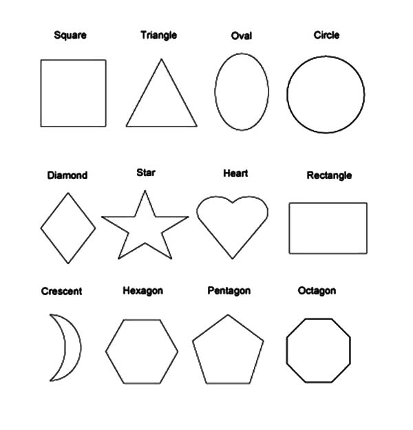 coloring simple shapes free printable shapes coloring pages for kids kids and shapes simple coloring