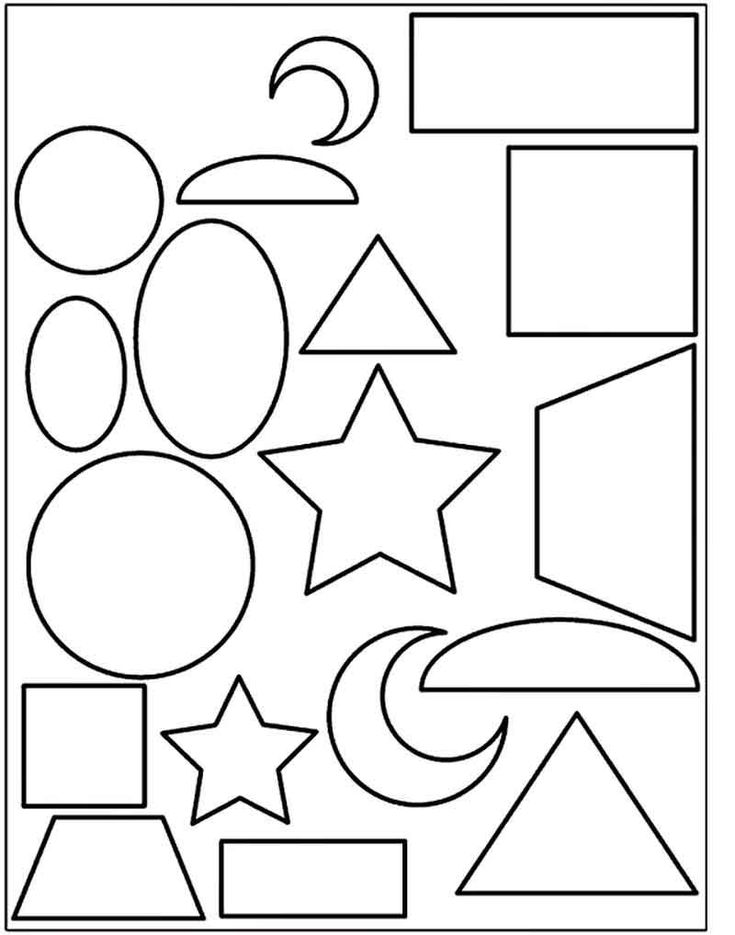 coloring simple shapes simple drawing for kids using shapes at getdrawings free simple coloring shapes