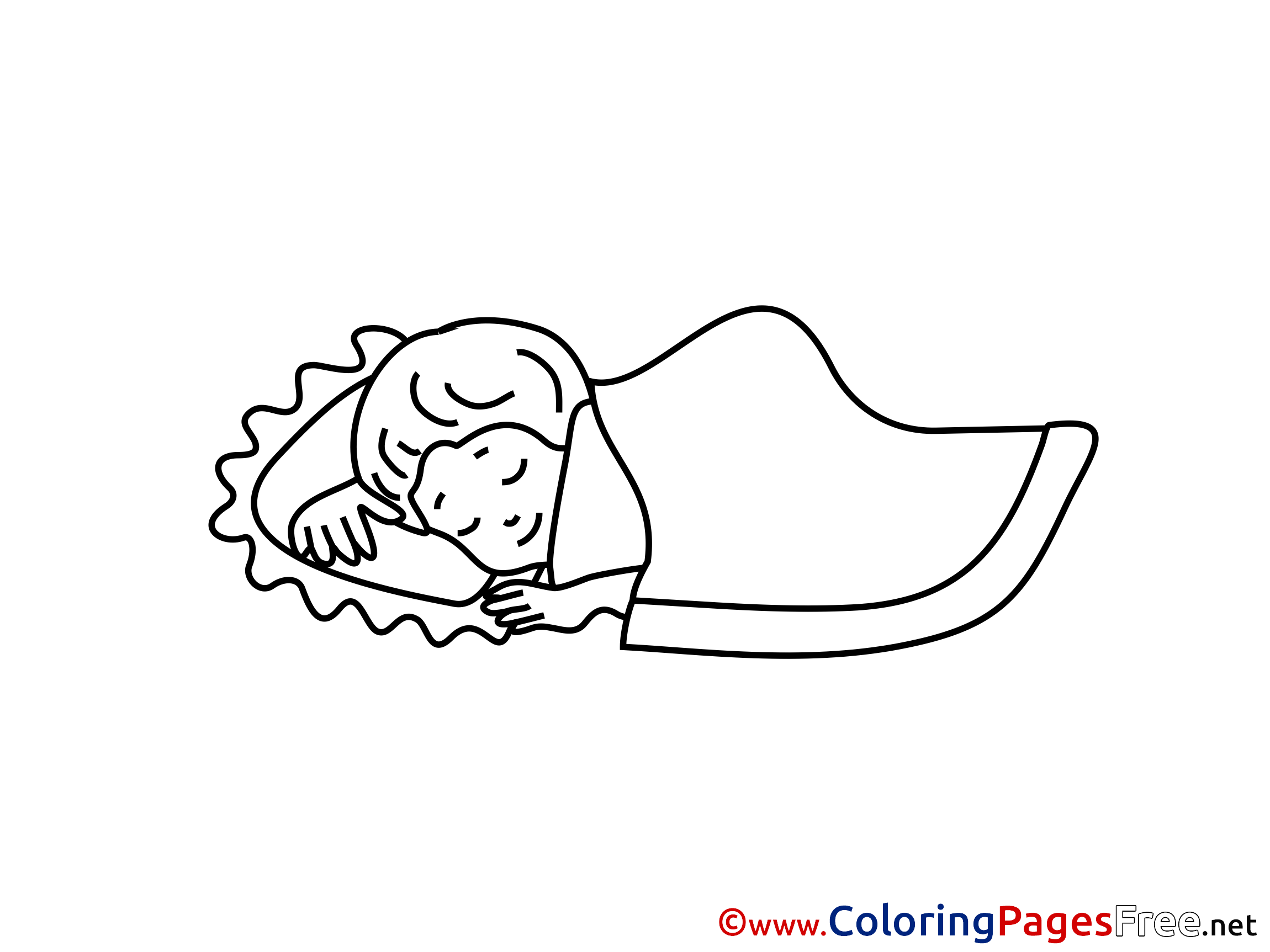 coloring sleeping sleeping girl coloring pages for you coloring sleeping