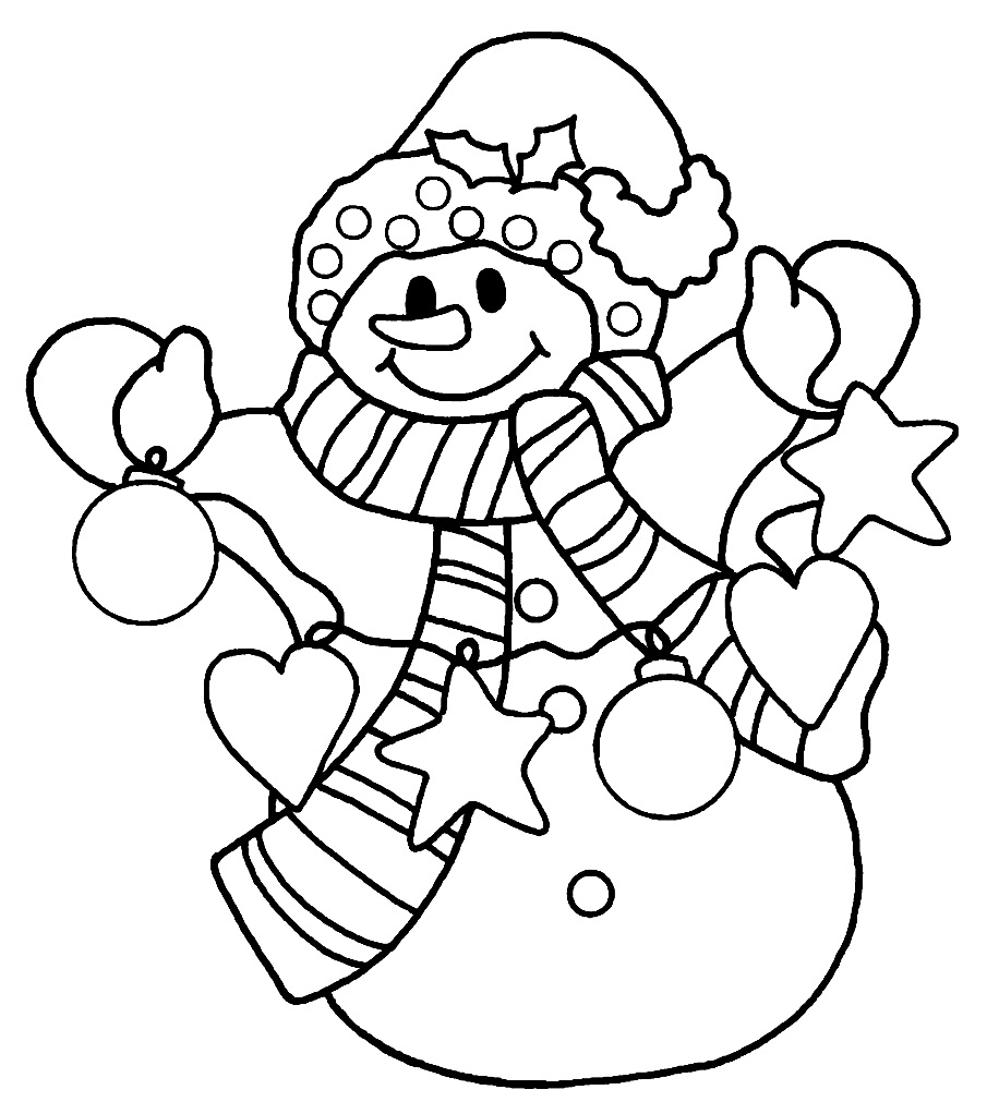 coloring snowman coloring pages christmas snowman coloring pages free and coloring snowman