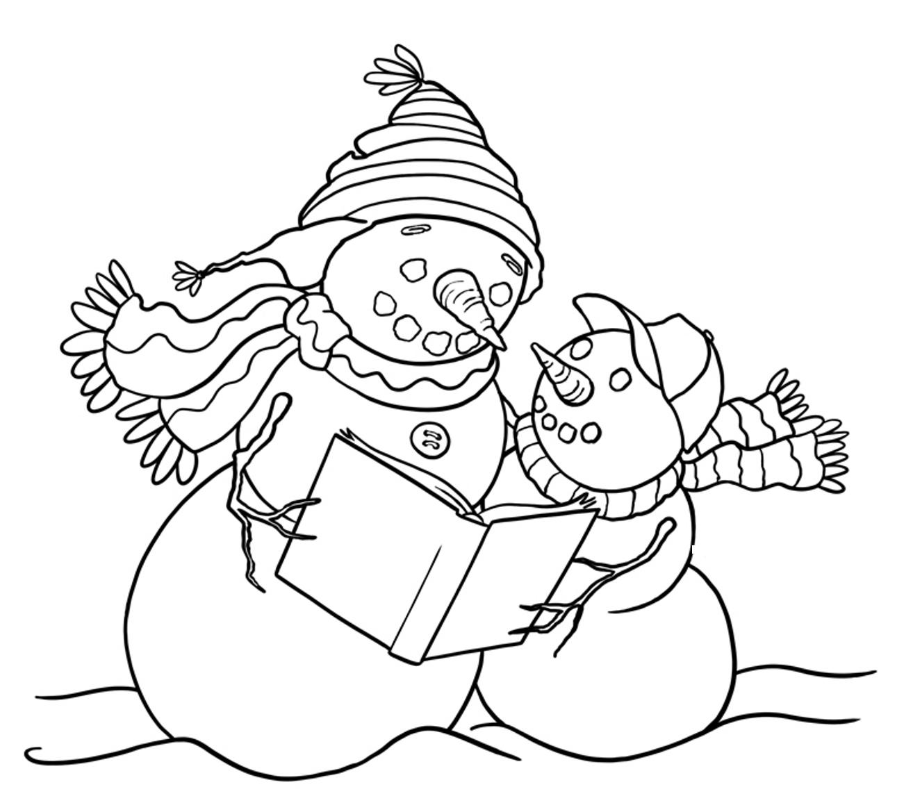 coloring snowman snowman family coloring pages at getcoloringscom free coloring snowman