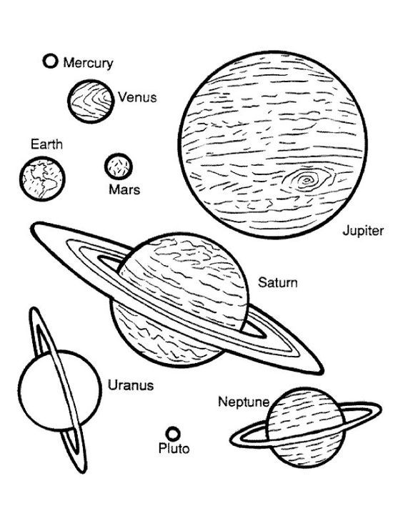 coloring solar system planets planet coloring pages collection space coloring pages planets solar coloring system