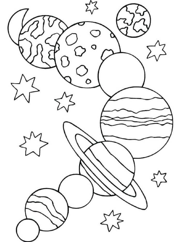 coloring solar system planets solar system coloring pages planet coloring pages solar system coloring planets