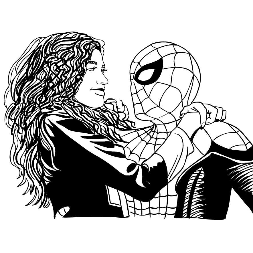 coloring spider man far from home spider man far from home coloring page drawing 5 far spider coloring home from man