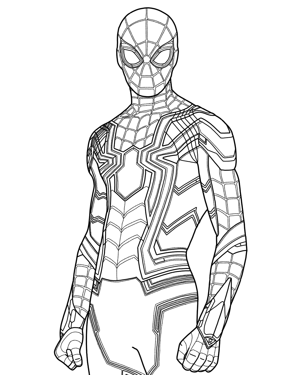 coloring spider man far from home spider man superhero coloring pages from home man coloring far spider