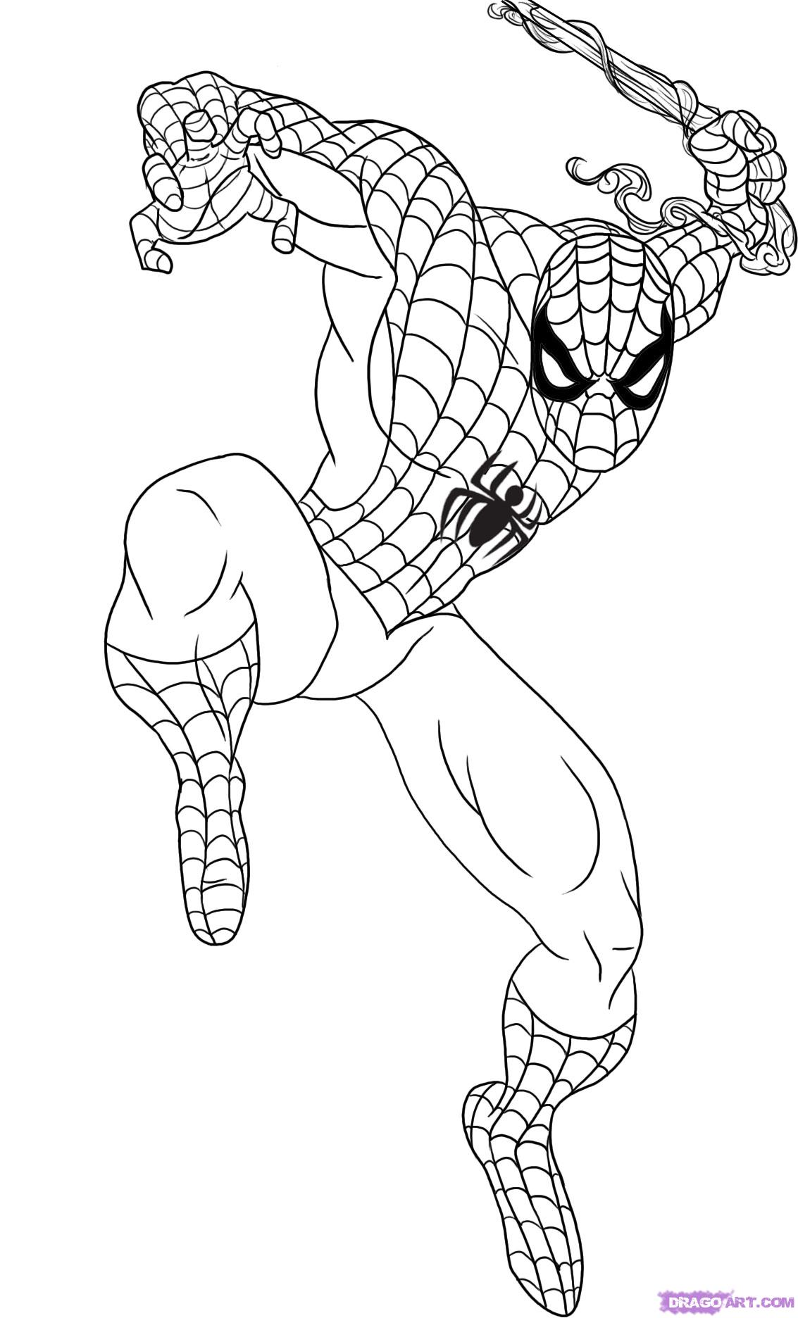 coloring spiderman drawing easy baby spiderman drawing free download on clipartmag spiderman drawing coloring easy
