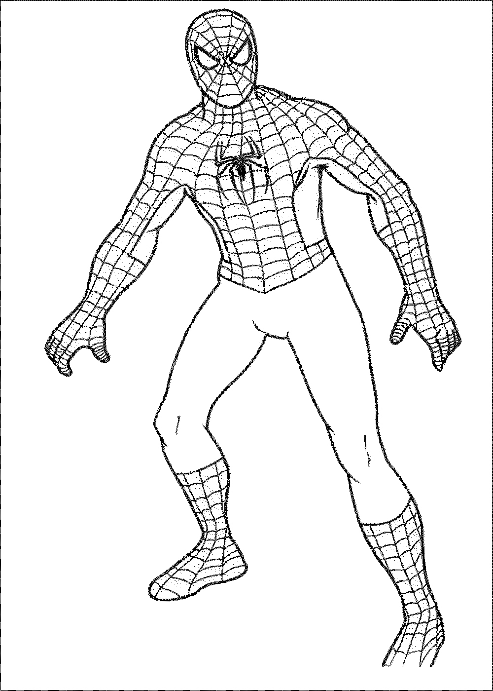 coloring spiderman drawing easy how to draw spiderman with simple steps drawing tutorial spiderman coloring drawing easy