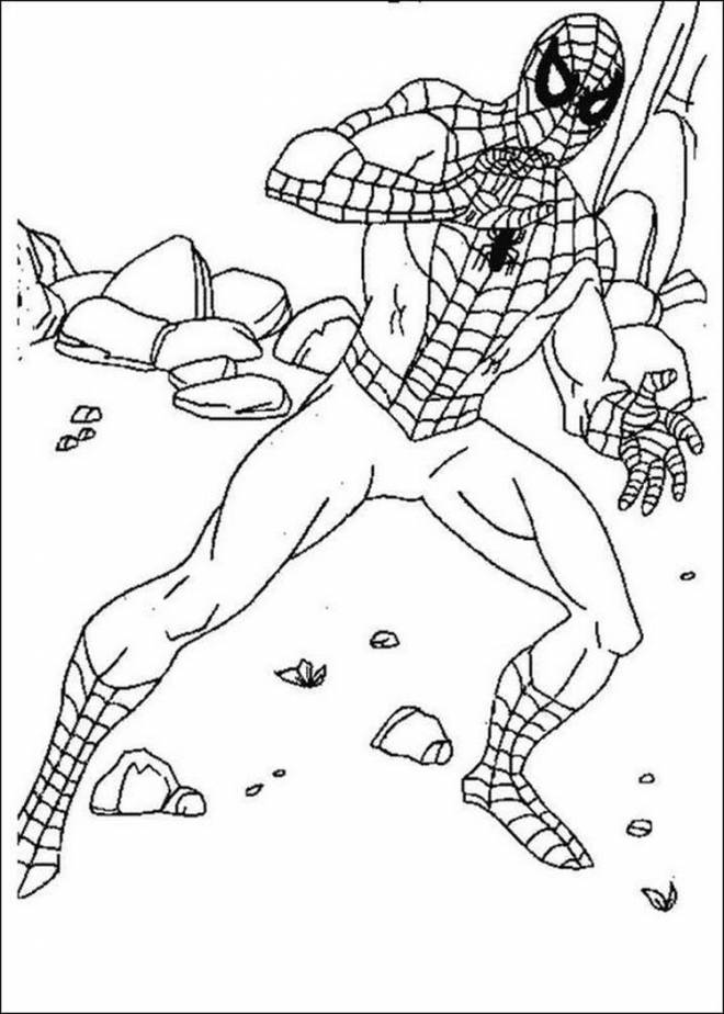 coloring spiderman drawing easy spiderman drawing for kids free download on clipartmag drawing coloring easy spiderman