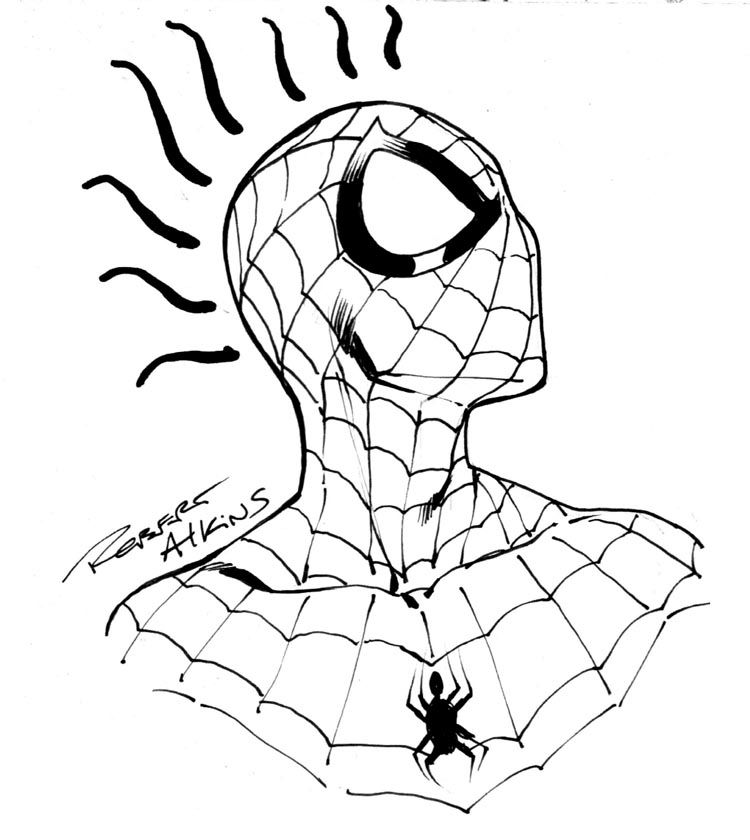 coloring spiderman drawing easy spiderman drawings for kids coloring home easy spiderman coloring drawing