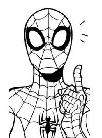coloring spiderman drawing easy spiderman mask drawing free download on clipartmag coloring easy drawing spiderman