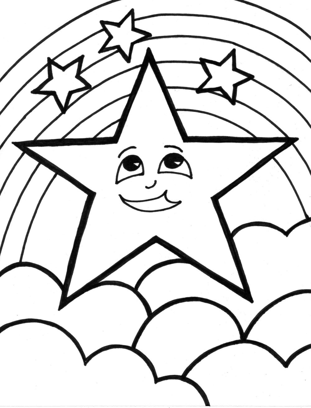 coloring star images best shooting star clipart 13022 clipartioncom star images coloring