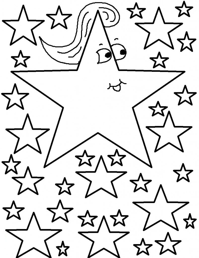 coloring star images free printable star coloring pages for kids star coloring images