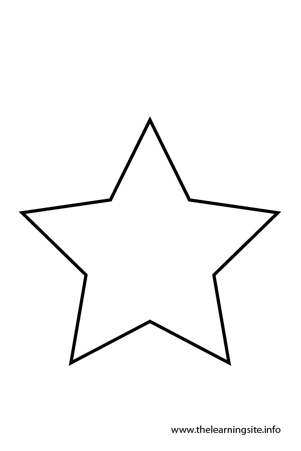 coloring star images yellow star flashcard the learning site star coloring images