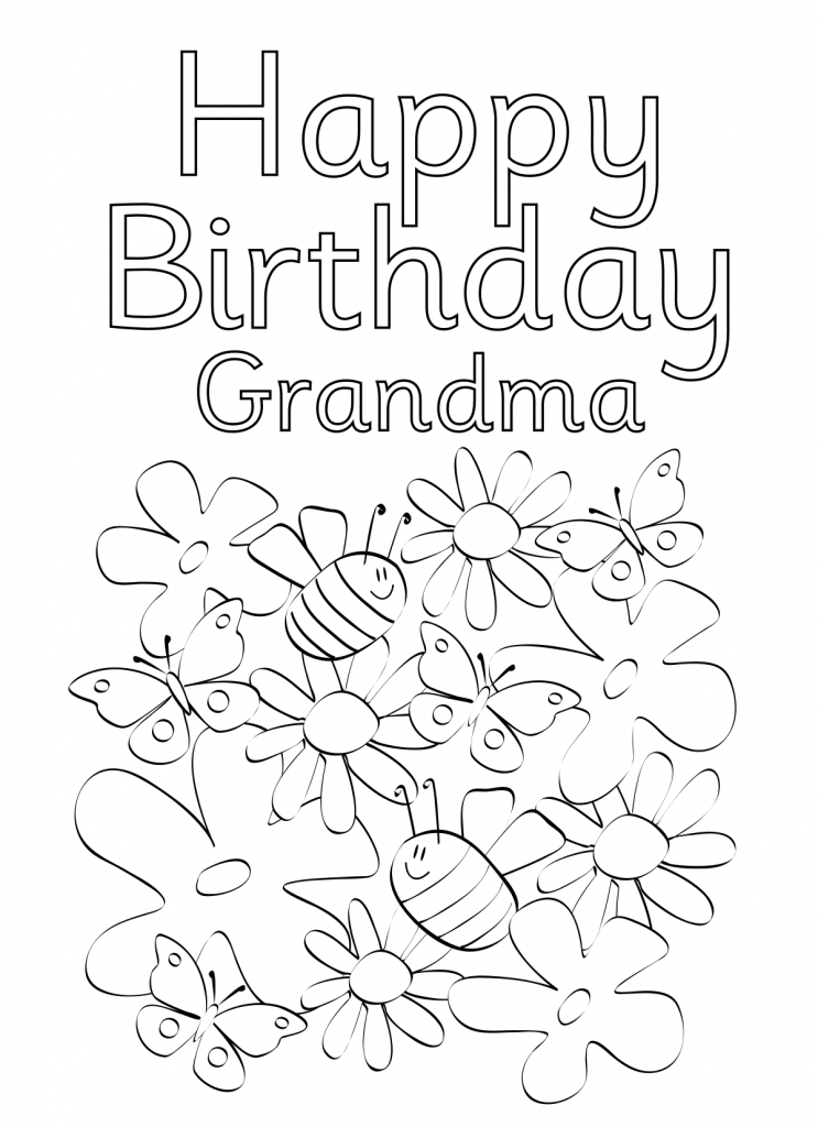 coloring template birthday card printable 55 best happy birthday coloring pages free printable pdfs card printable coloring birthday template