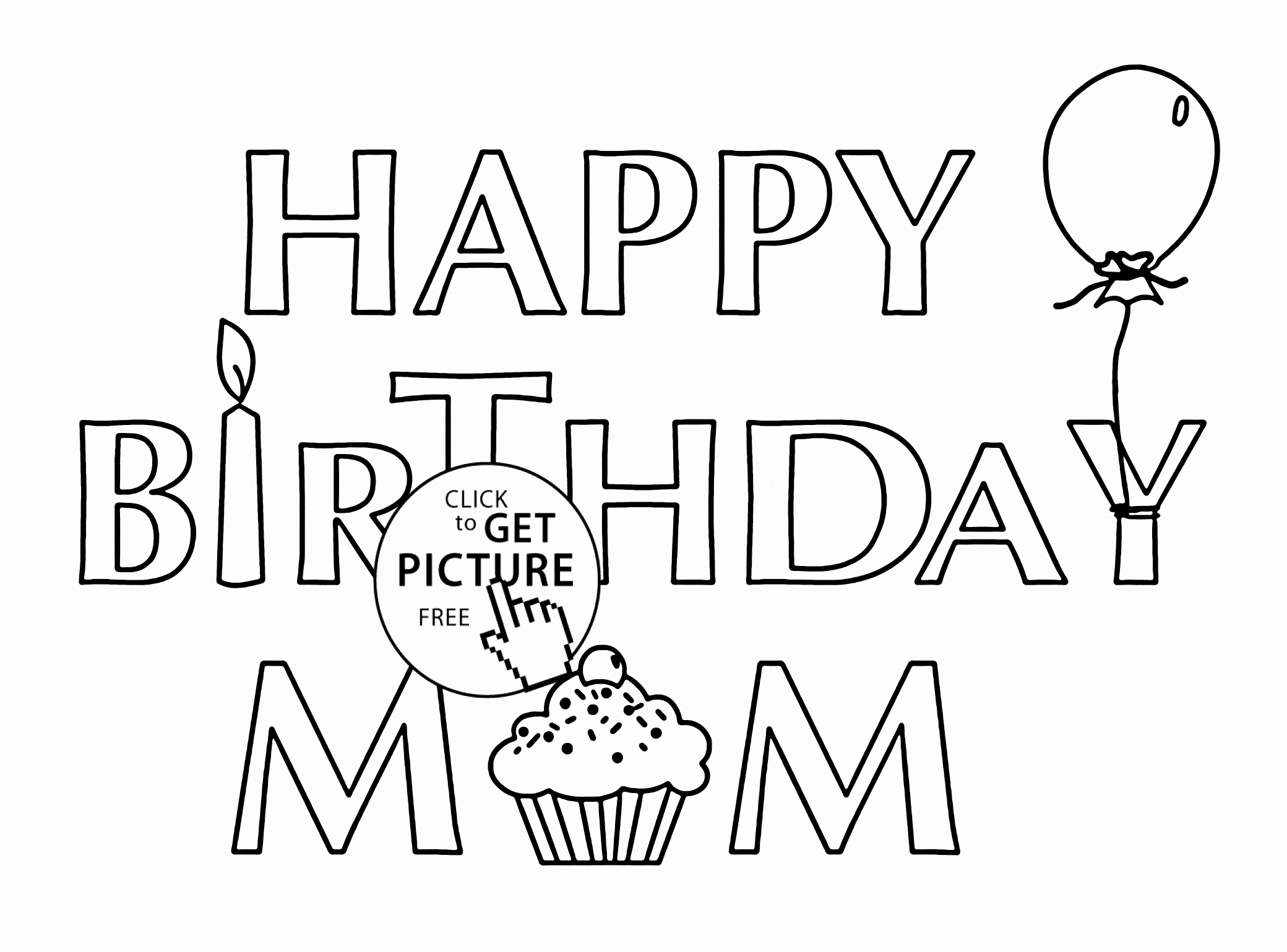 coloring template birthday card printable 6 best printable folding birthday cards printableecom printable card coloring birthday template
