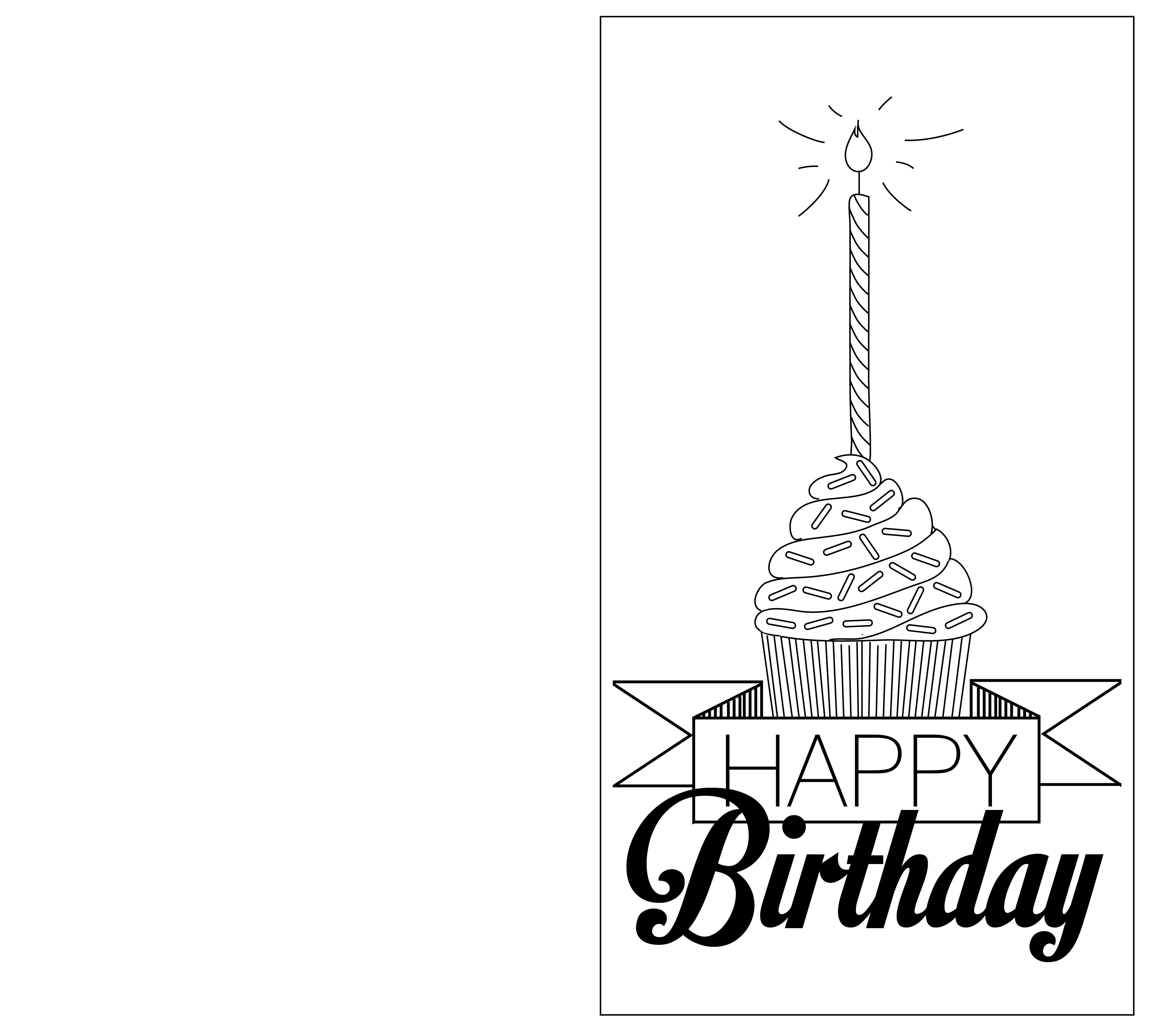 coloring template birthday card printable happy birthday grandma coloring page coloring home coloring printable template card birthday