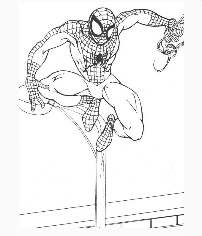 coloring template for kids 13 cool spiderman coloring pages for your kids template kids template coloring for