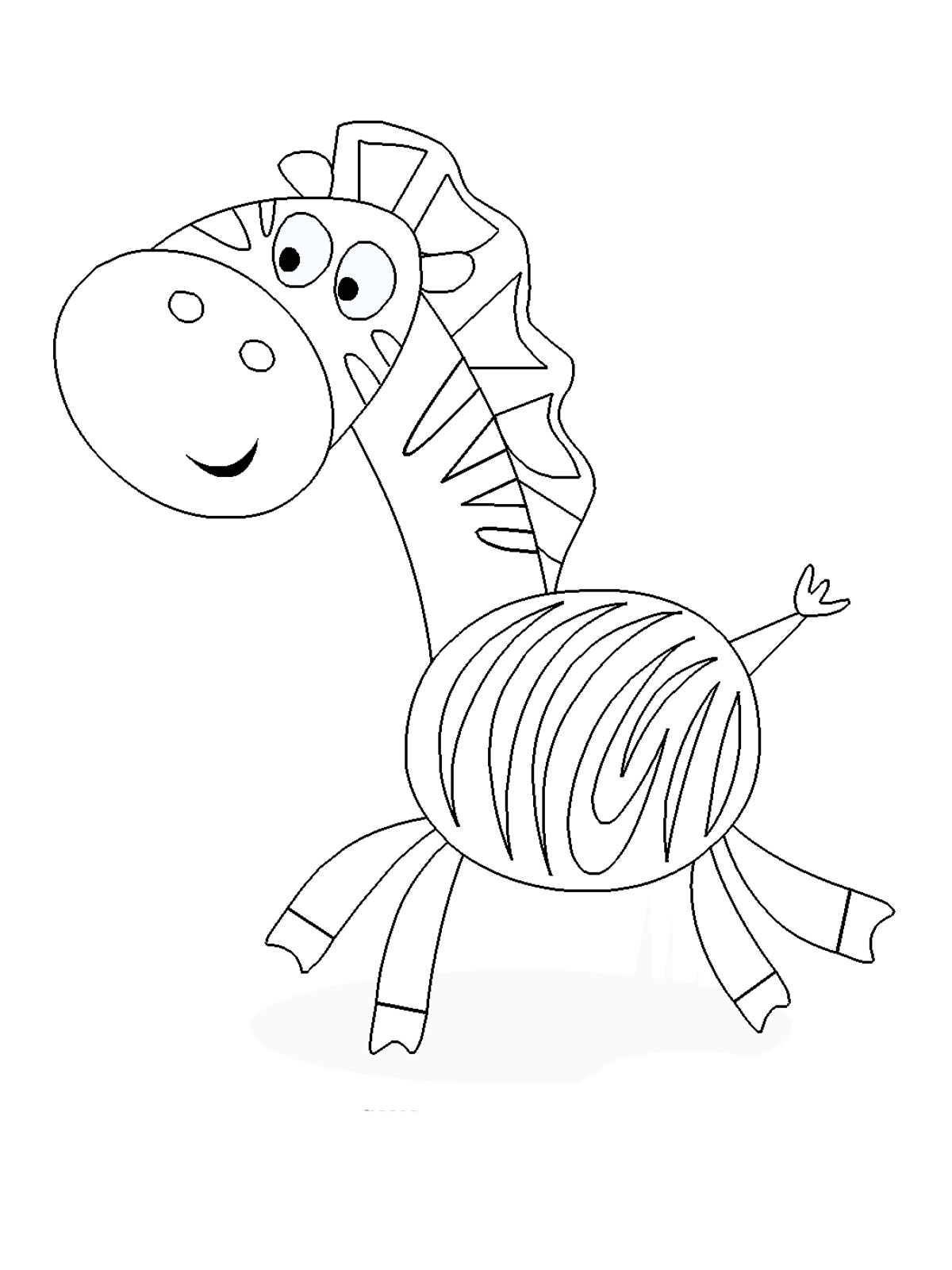 coloring template for kids coloring pages for young kids at getcoloringscom free template for kids coloring