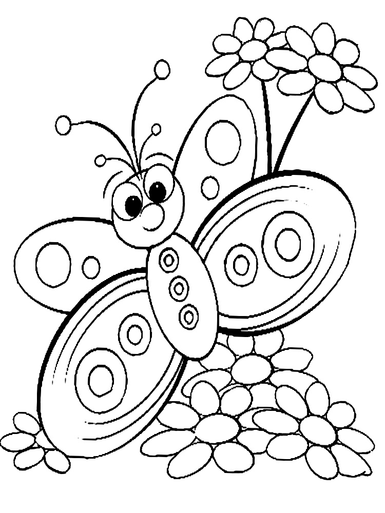 coloring templates for kids butterfly coloring pages for kids templates kids for coloring