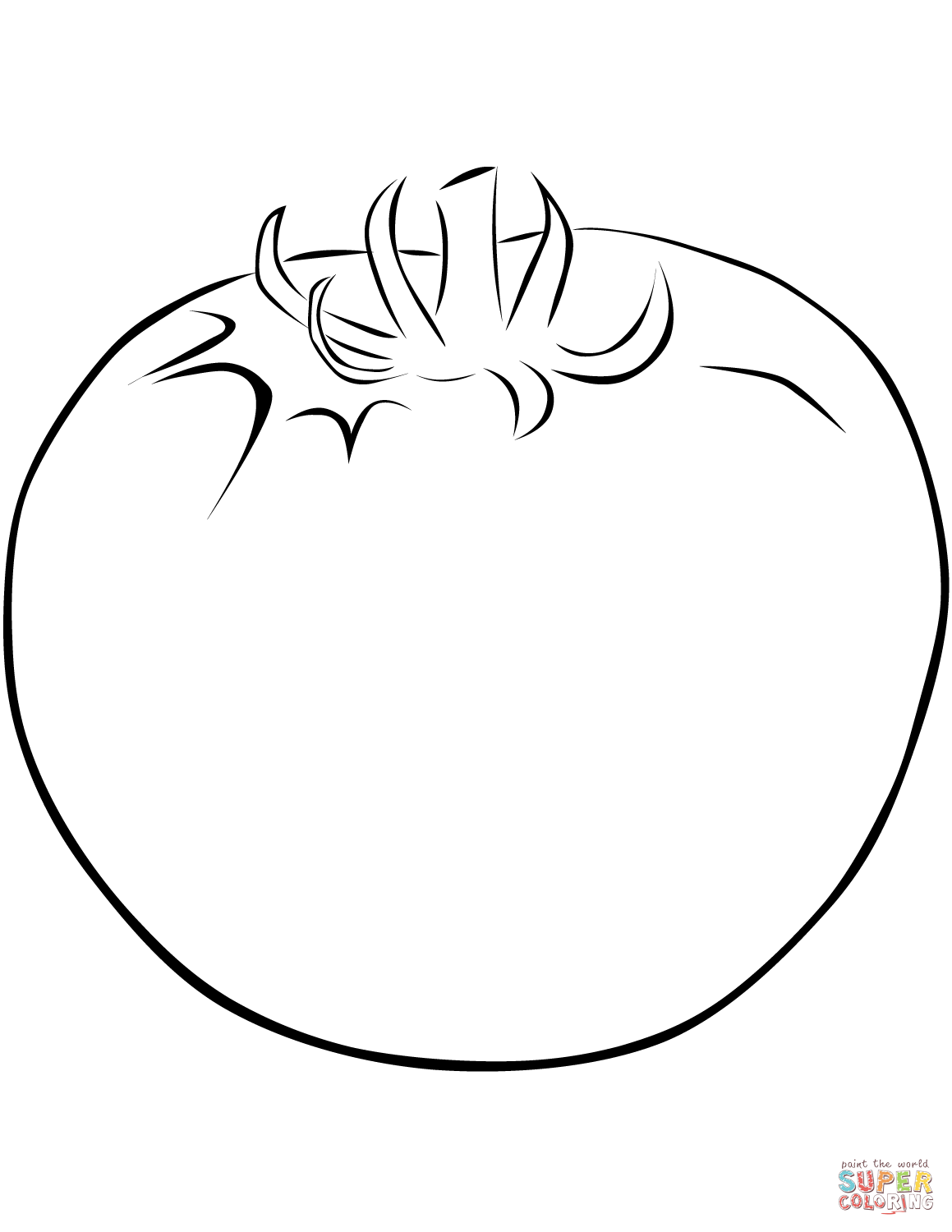 coloring tomato template tomato coloring pages tomato template coloring