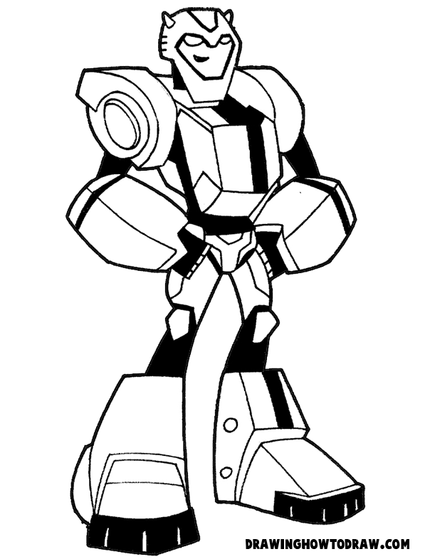coloring transformers bumblebee simpsons pages bumblebee coloring pages transformers coloring bumblebee