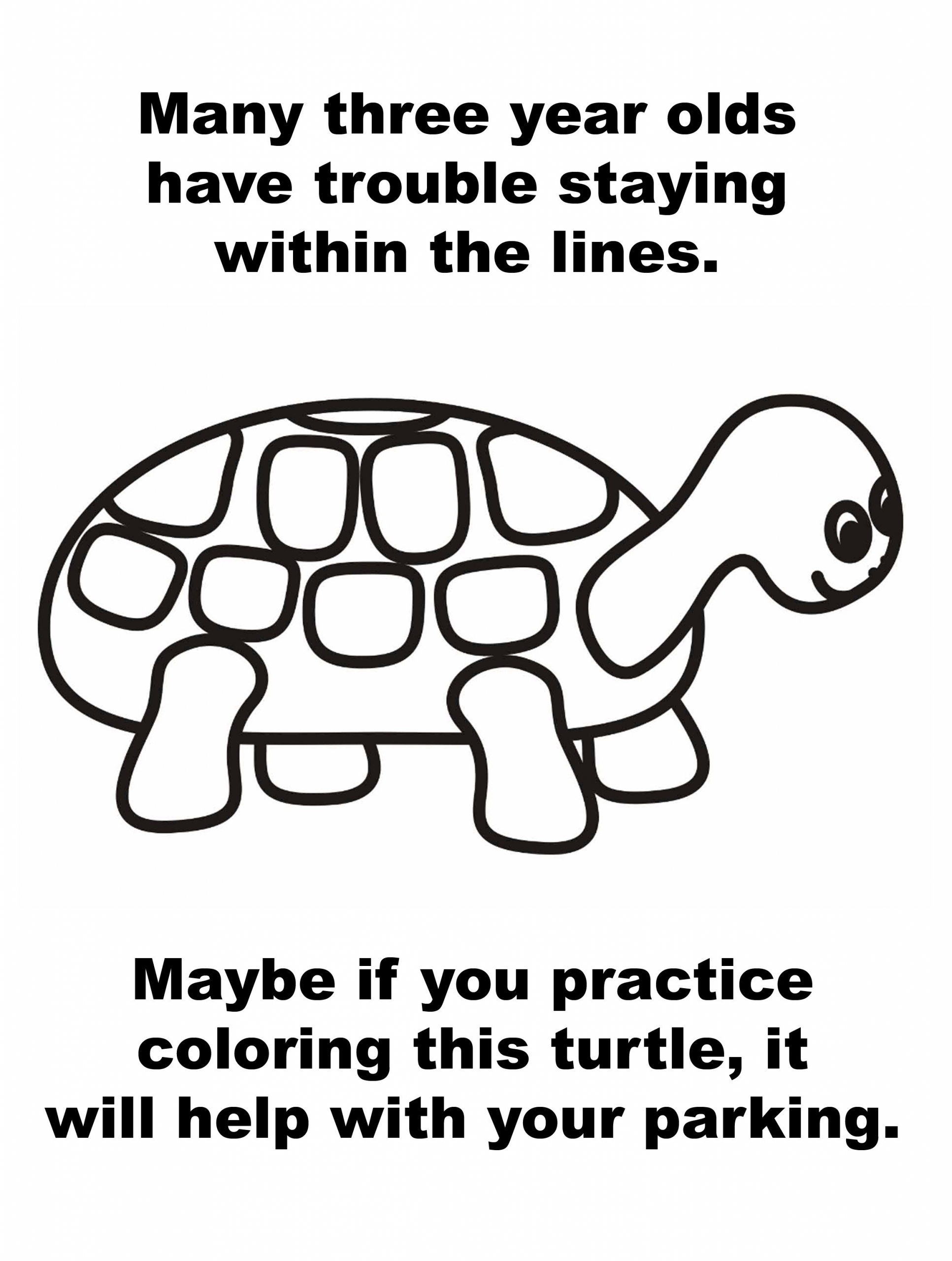 coloring turtle parking pin on turtle coloring page turtle parking coloring