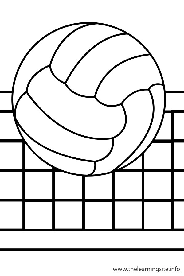 coloring volleyball cool free volleyball ball coloring page coloring pages coloring volleyball