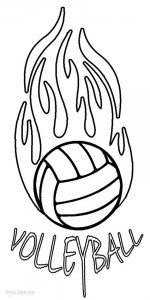 coloring volleyball free printable volleyball coloring pages for kids coloring volleyball