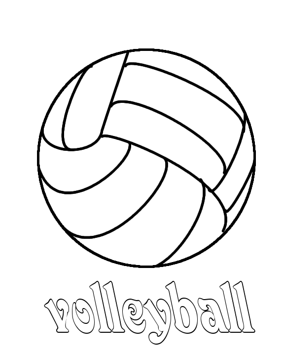 coloring volleyball free printable volleyball coloring pages for kids coloring volleyball 1 1