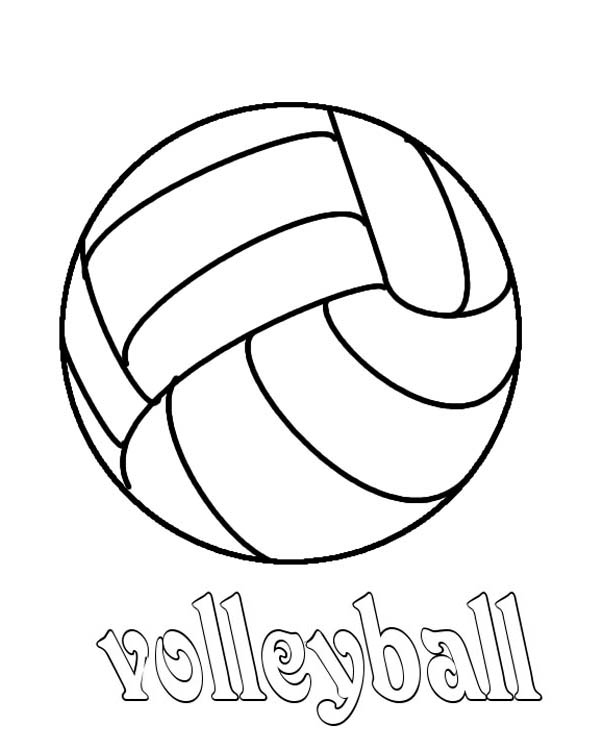 coloring volleyball free printable volleyball coloring pages for kids coloring volleyball 1 2
