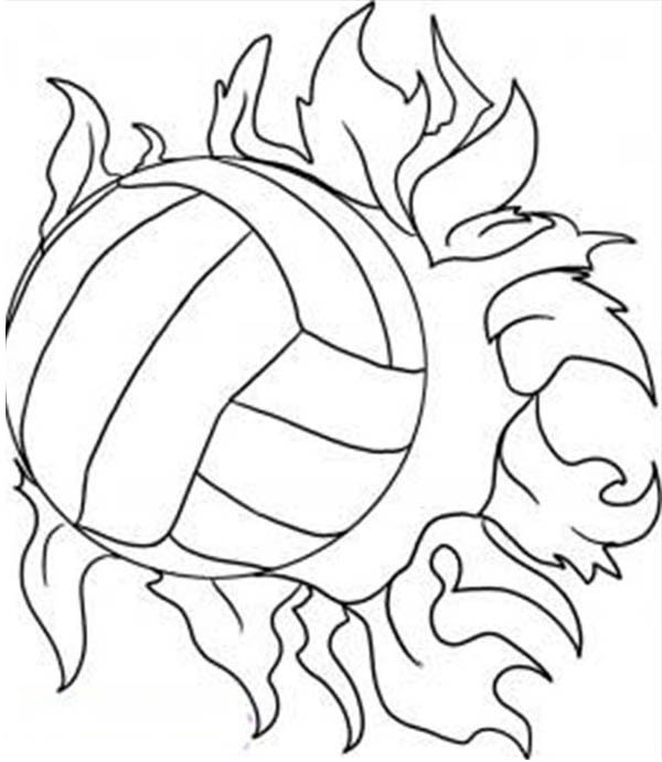 coloring volleyball free printable volleyball coloring pages for kids coloring volleyball 1 4