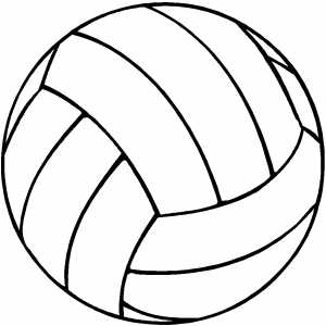 coloring volleyball printable volleyball coloring pages for kids cool2bkids volleyball coloring 1 1