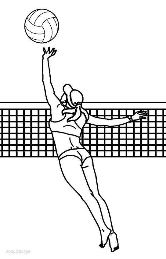 coloring volleyball volleyball coloring pages free download on clipartmag coloring volleyball