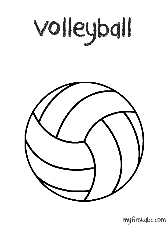 coloring volleyball volleyball coloring pages free download on clipartmag volleyball coloring