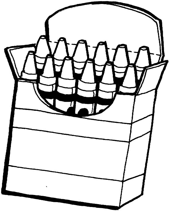 coloring with crayons clipart box crayons coloring pages for kids box crayons coloring crayons coloring clipart with