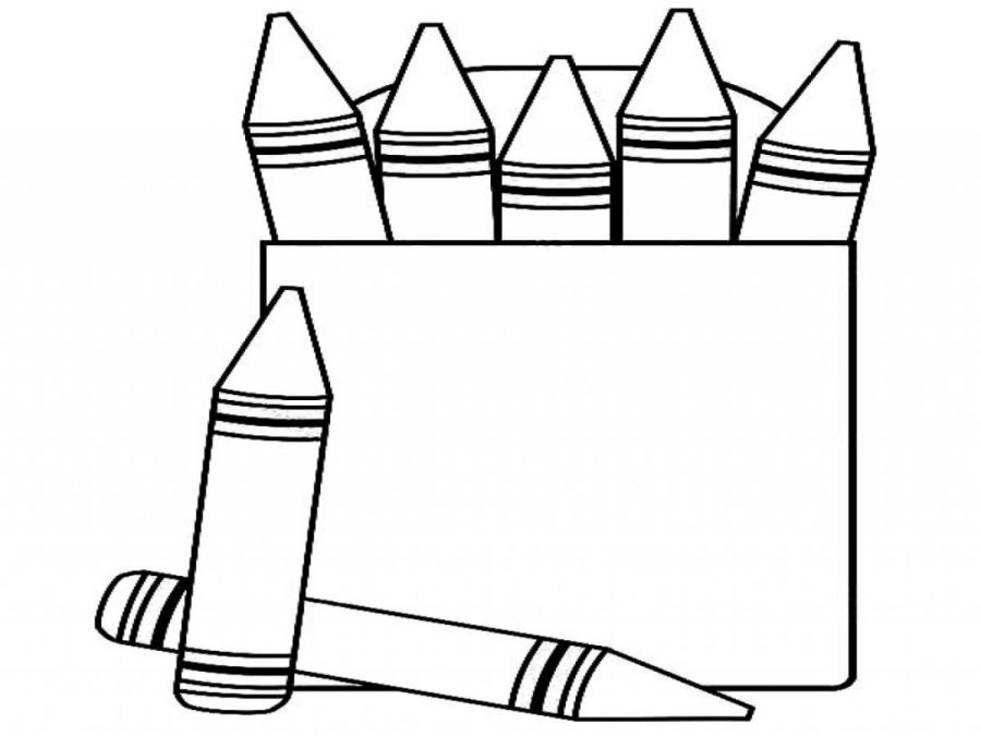 coloring with crayons clipart crayon coloring pages collection whitesbelfast with clipart coloring crayons