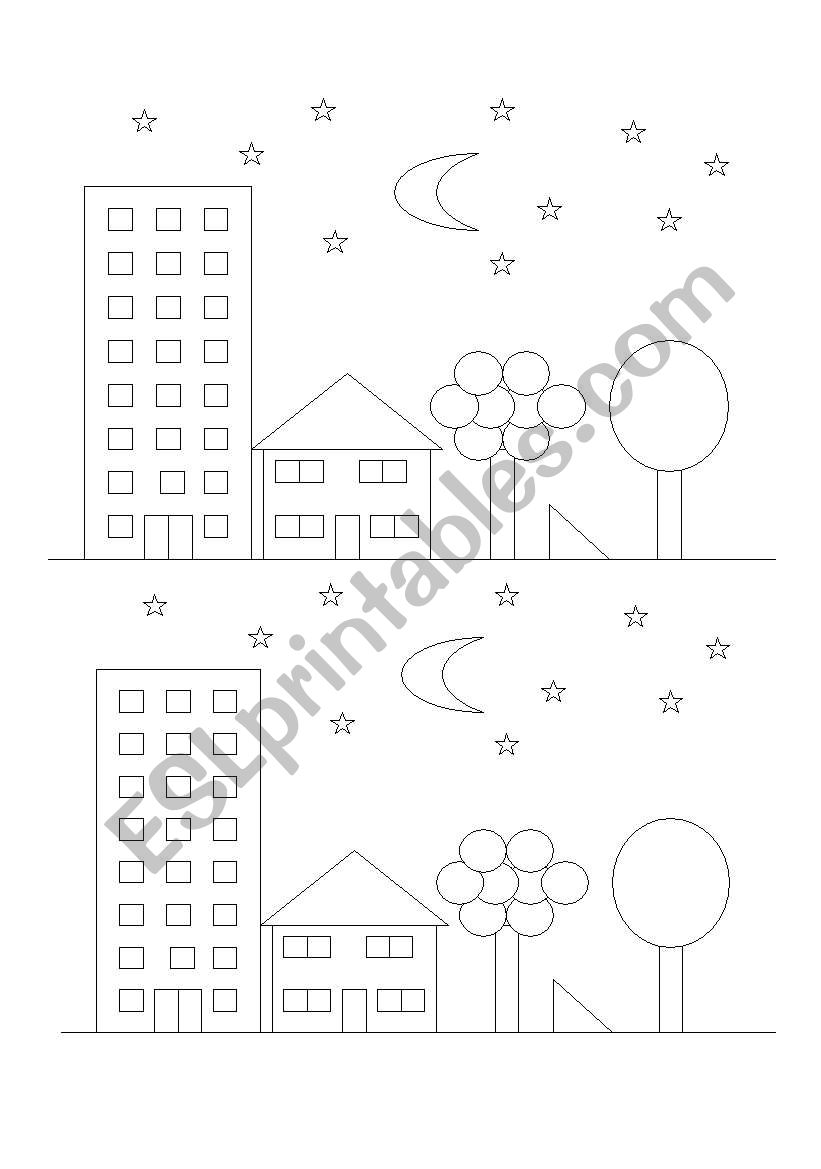 coloring with instructions color according to the teachers instructions esl coloring with instructions