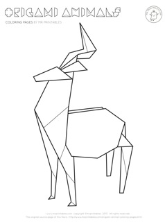 coloring with instructions origami animal coloring pages mr printables coloring with instructions