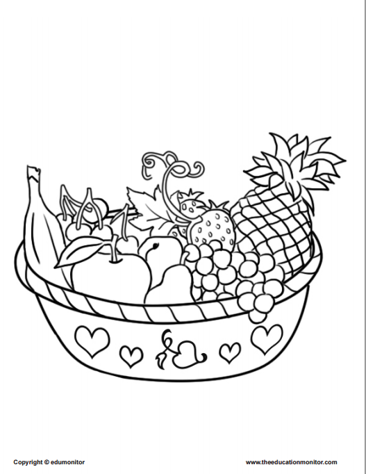 coloring worksheets about nutrition healthy food coloring pages see more healthy tips at worksheets about nutrition coloring