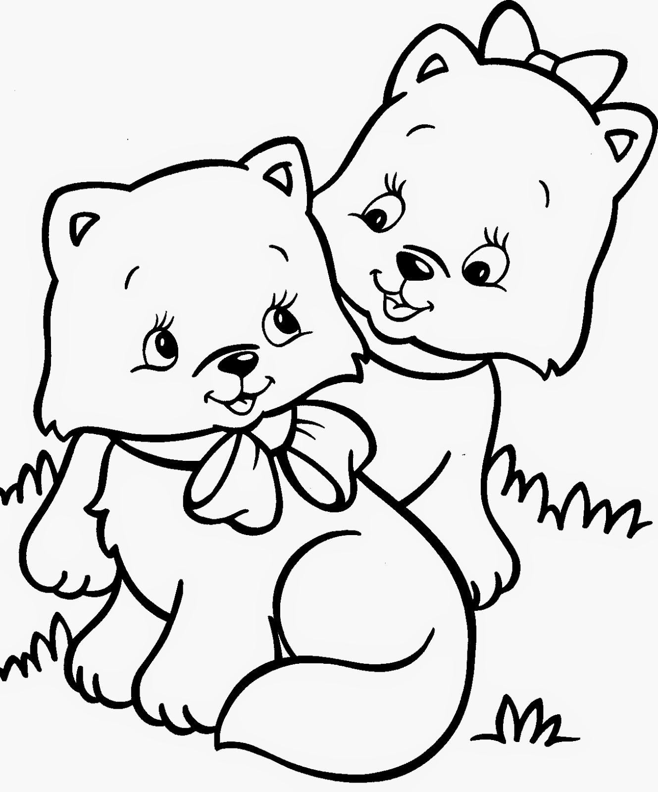 coloring worksheets cat cat coloring pages coloringpages1001com coloring cat worksheets