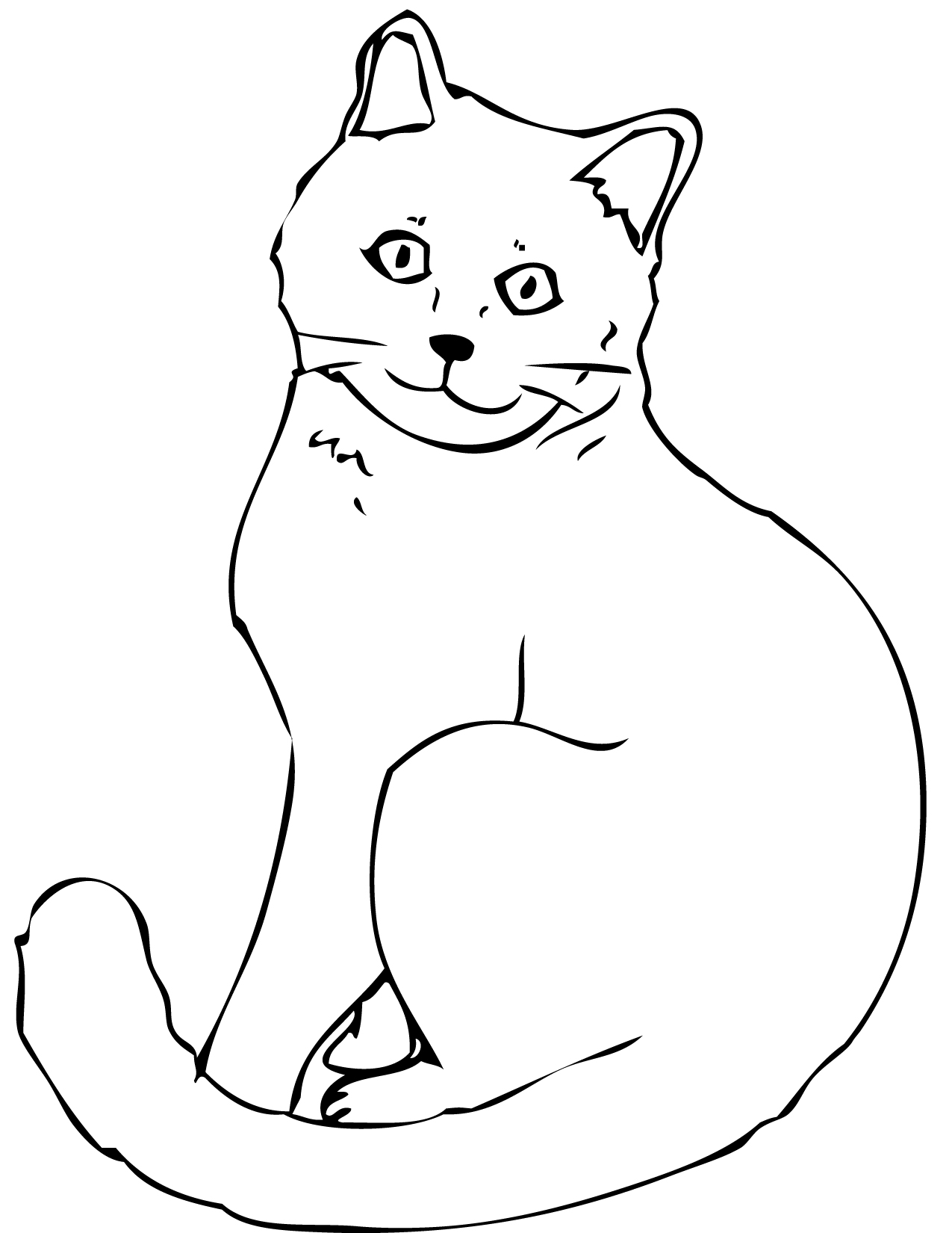 coloring worksheets cat cat coloring pages kidsuki cat coloring worksheets